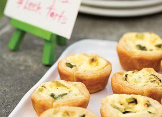 Asparagus-Leek-Tarts-Recipe