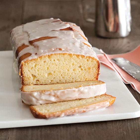 Glazed grapefruit Pound cake-Recipe
