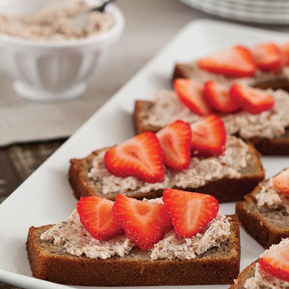 Open-Face-Banana-Bread-Sandwiches-Recipe