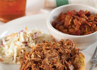 Open-Faced-Pulled-Pork-Barbecue-Sandwiches-Recipe