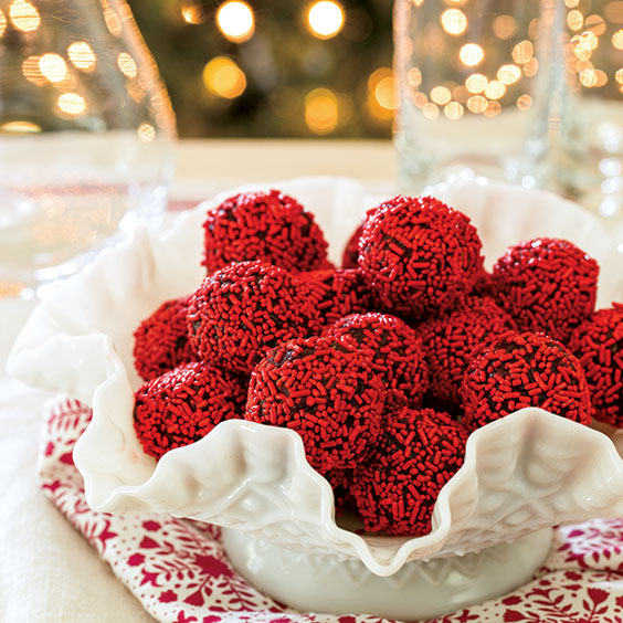 Red Velvet Cake Balls Recipe - Cooking with Paula Deen