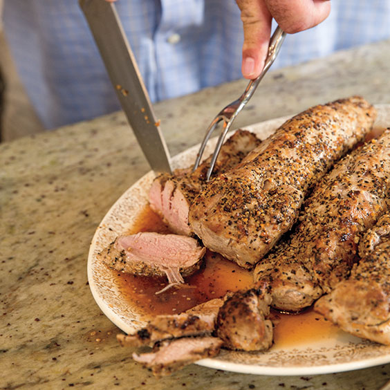 how to cook pork tenderloin in oven with foil uk