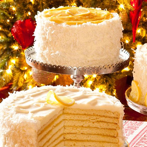 Pretty Layer Cakes - Paula Deen Magazine  Lemon Cake Paula Deen