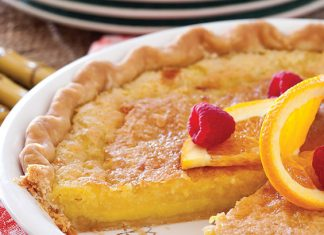 Orange-Buttermilk Chess Pie
