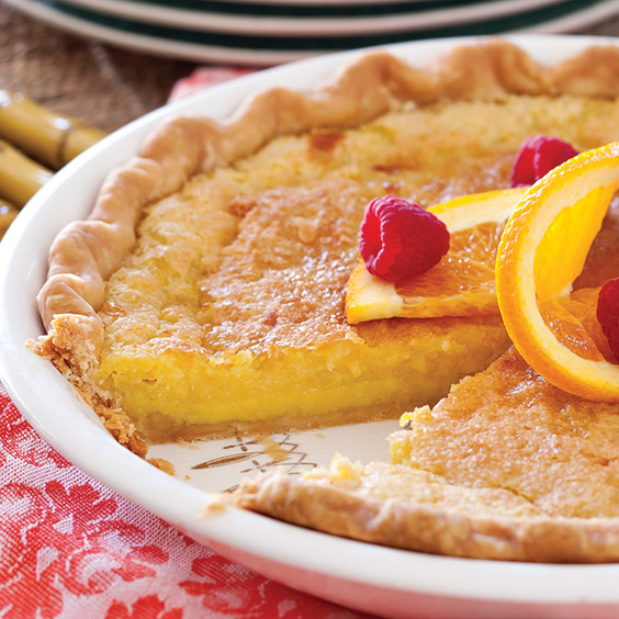 Orange Buttermilk Chess Pie Recipe