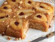 Pear-Cherry-Upside-Down-Cake-Recipe