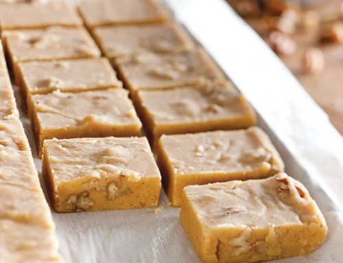 Buttery Pumpkin Pie Fudge