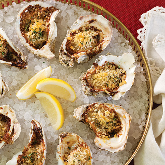 Roasted Oysters Recipe - Cooking with Paula Deen Magazine