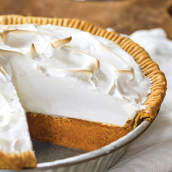 Sweet Potato Pie with Meringue Topping Recipe