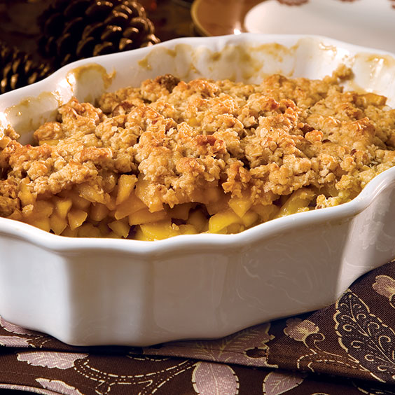 Apple Cobbler With Oatmeal Ginger Paula Deen Magazine