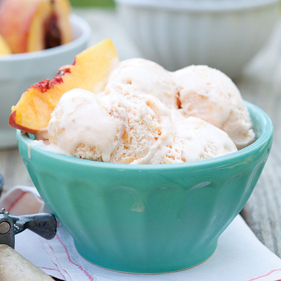 Peach Ice Cream Recipe - Cooking with Paula Deen