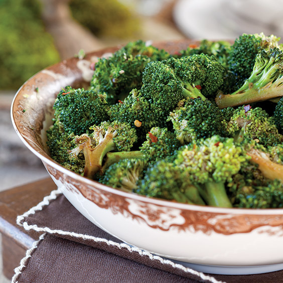Balsamic Glazed Broccoli