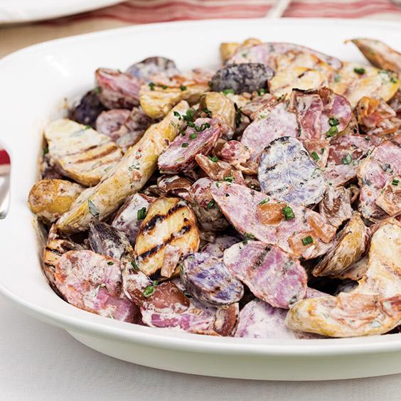 Grilled-Caesar-Potato-Salad