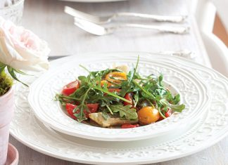 Heirloom Tomato and Artichoke Salad