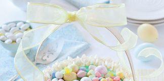 easter cakes, lemon-thyme basket cake