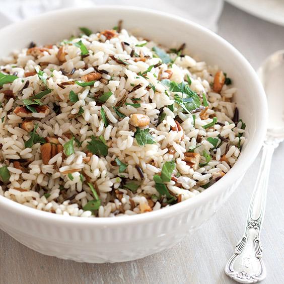 Pecan Parsley Rice