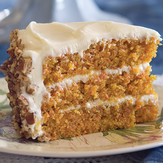 Carrot Cake With Cream Cheese Frosting Recipe Paula Deen