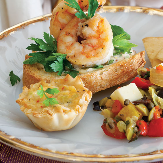 crawfish pastries