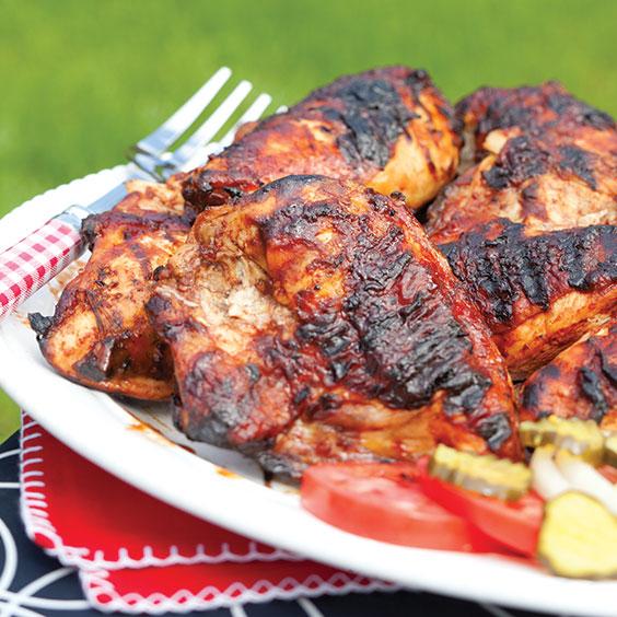 dr pepper barbecue chicken