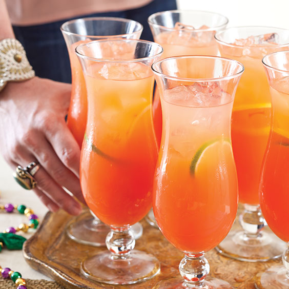 Light Summer Drinks With Orange Juice