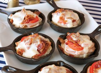 mini southern hot browns