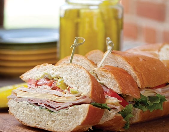 pepperoncini sub sandwiches for a crowd