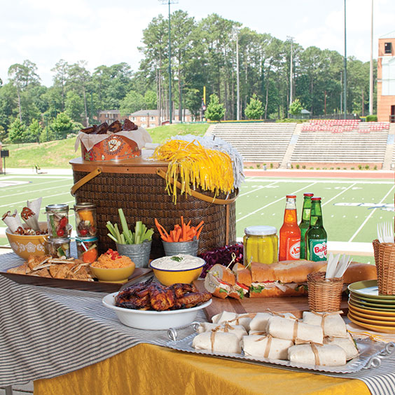 tailgating tablesetting