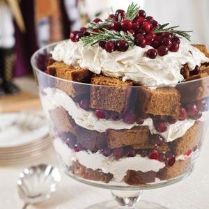 Lemon Gingerbread Trifle