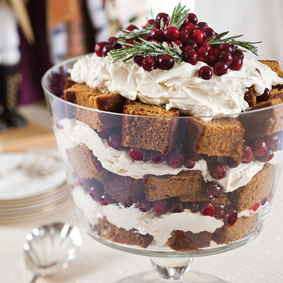 Lemon Gingerbread Trifle
