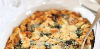 Sausage and Greens Breakfast Casserole