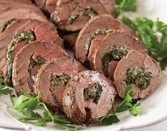 Spinach-Stuffed-Beef-Tenderloin