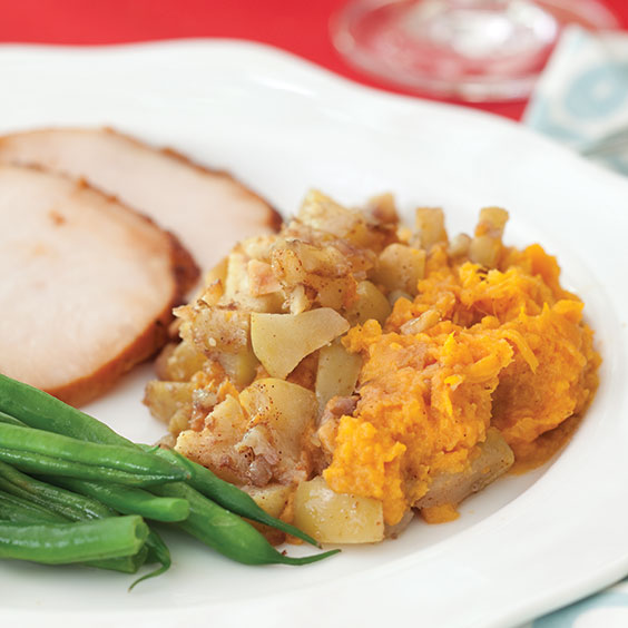 Sweet Potato and Apple Casserole - Paula Deen Magazine