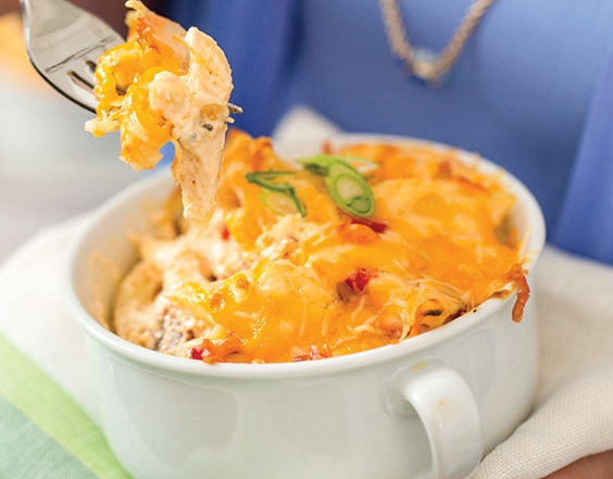bacon-pimiento macaroni and cheese