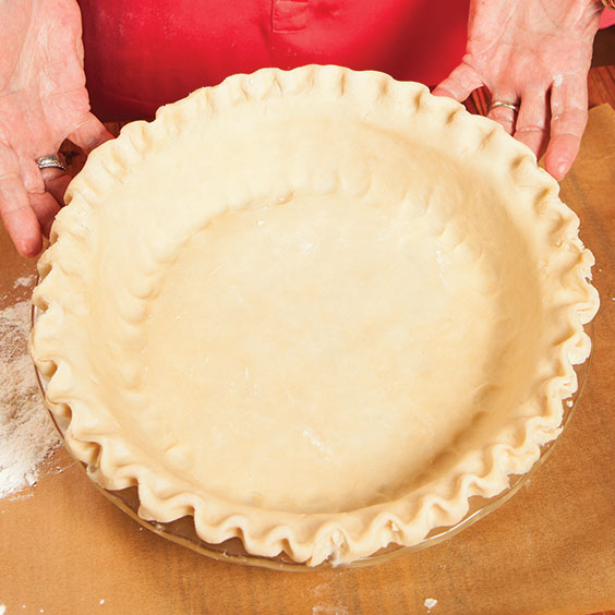 pie crust in a pie plate