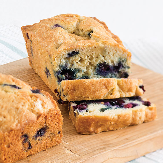 Blueberry Mini Loaves Recipe Cooking With Paula Deen