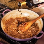 dark caramelized onions