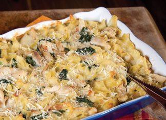 Chicken Florentine Casserole - Paula Deen Magazine