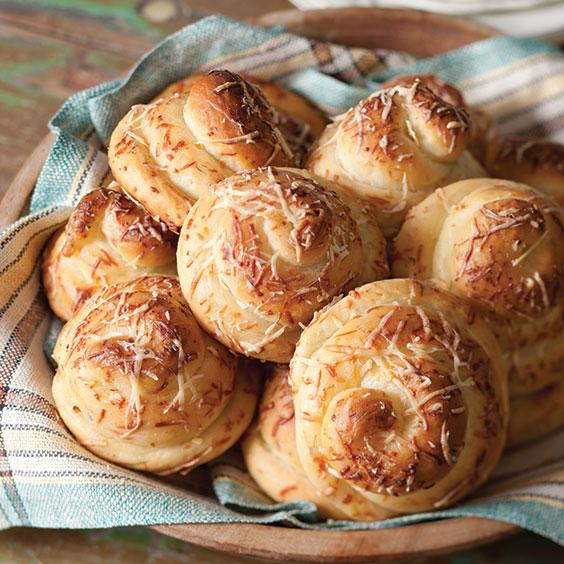 parmesan-dill dinner rolls