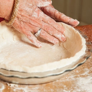 making pie crust from scratch