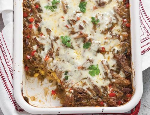Pork Tamale Casserole