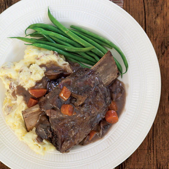Red-Wine Braised Beef Short Ribs - Paula Deen Magazine