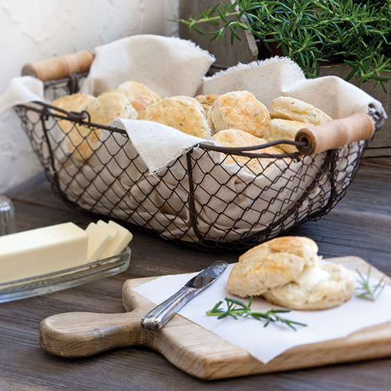 Rosemary–Parmesan Biscuits