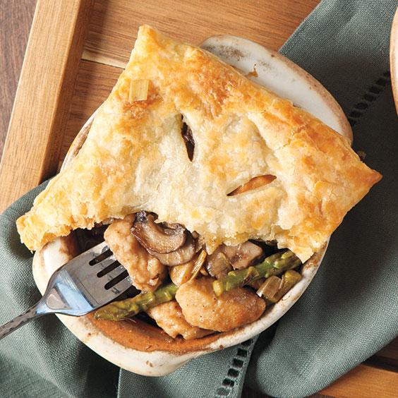 Chicken Madeira Pot Pie