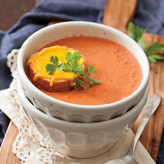 Creamy Tomato Soup - Paula Deen Magazine