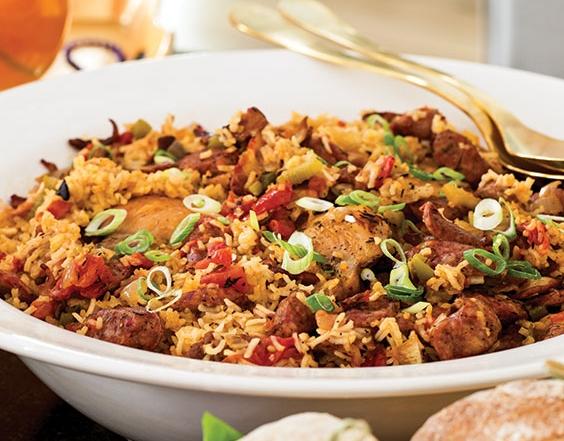chicken-sausage-jambalaya