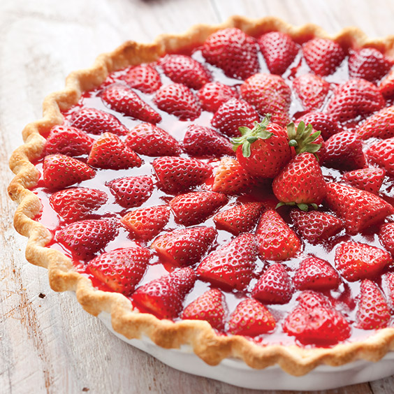 Strawberry Pie by Paula Dean
