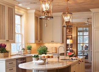 warm, cozy kitchen