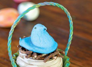meringue nests for Easter