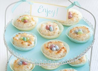 coconut macaroons for Easter