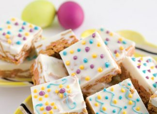 cereal bar treats for Easter